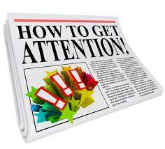 How To Get Attention - Newspaper